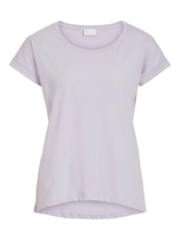 Vila Dreamers Pure T-shirt Fav Lila