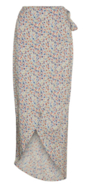 Noisy May nmasta Ankle wrap Skirt flower/white