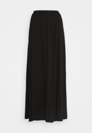 Vila visuvita ancle skirt black