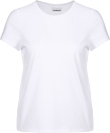 Noisy May nmnate love T-shirt white