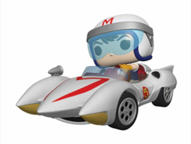 Funko Pop! Speed Racer POP! Rides Vinyl Figure Speed w/Mach 5 18 cm