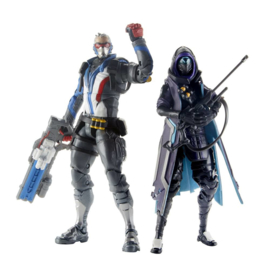 Overwatch Ultimates Action Figures 15 cm 2-Packs 2019 Wave 1 - Ana & Soldier 76