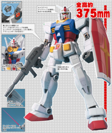 Gundam: Mega Size - RX-78-2 Gundam 1:48 Scale Model kit