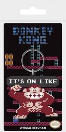 Nintendo - It's On Like Donkey Kong rubber keychain
