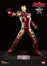 Avengers Age of Ultron Life-Size Statue Iron Man Mark XLIII Battle Ver. 203 cm
