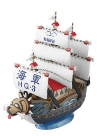 One Piece: Grand Ship Collection - Garp's Ship Model Kit