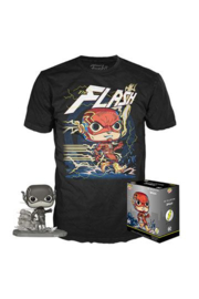 Funko Pop! DC Jim Lee POP! & Tee Box Flash Exclusive Maat XL