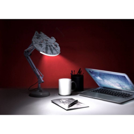 Paladone Star Wars Millennium Falcon Posable Desk Light 60 cm