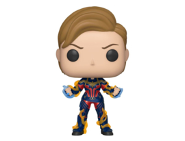 Funko Pop! Avengers: Endgame POP! Movies Vinyl Figure Captain Marvel w/New Hair 9 cm