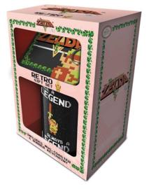 Gift Set - The legend of Zelda retro