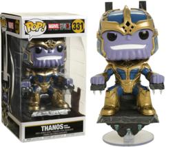 "Funko Pop! Marvel Studios: The First Ten Years - Thanos on Throne 8"" Deluxe Pop!"