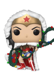 DC Comics POP! Heroes Vinyl Figure DC Holiday: Wonder Woman with String Light Lasso 9 cm