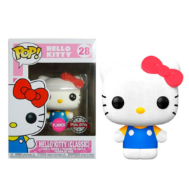 Funko Pop! Hello Kitty Classic Flocked exclusive