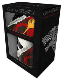 Gift Set - Game of Thrones Stark &  Targaryen