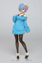 Re:Zero PVC Statue Rem Knit Dress Version 23 cm