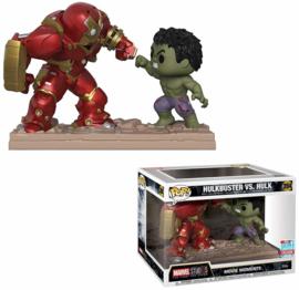 Funko Pop! Marvel Studios: The First Ten Years - Hulkbuster vs Hulk Movie Moments