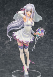 Phat! Re:ZERO -Starting Life in Another World- PVC Statue 1/7 Emilia Wedding Ver. 25 cm