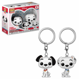 Funko Pocket Pop: 101 Dalmatians - 2-Pack Pongo & Purdy