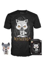 Funko Pop! Game of Thrones POP! & Tee Box Nymeria Maat L