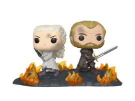 Funko Pop! Game of Thrones POP Moment! Vinyl Figures 2-Pack Daenerys & Jorah 9 cm