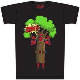 Deadpool as Groot shirt