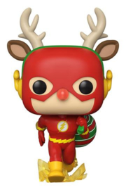 DC Comics POP! Heroes Vinyl Figure DC Holiday: The Flash Holiday Dash 9 cm