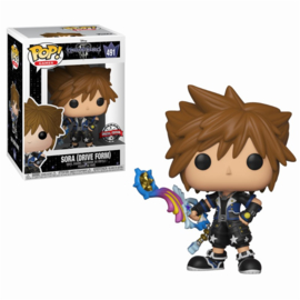 Funko Pop! Disney: Kingdom Hearts 3 - Drive Form Sora LE