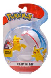 Pokemon Clip N Go - Pikachu + Premierball