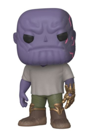 Funko Pop! Avengers: Endgame POP! Movies Vinyl Figure Casual Thanos w/Gauntlet 9 cm