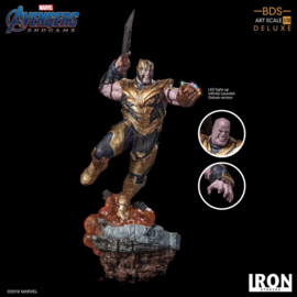 Iron Studios - Avengers Endgame BDS Art Scale Statue 1/10 Thanos Deluxe Version 36 cm
