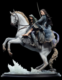 WETA - Lord of the Rings Statue 1/6 Arwen & Frodo on Asfaloth 40 cm