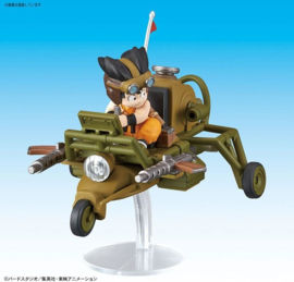 Dragon Ball: Mecha Collection - Vol.4 Son Gokus Jet Buggy Model Kit