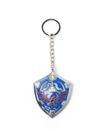 Legend of Zelda: Hylian Shield 3D Metal Keychain