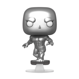 Funko Pop! Fantastic Four POP! Marvel Vinyl Figure Silver Surfer 9 cm