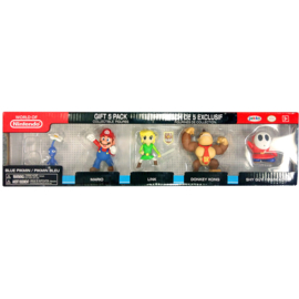 Nintendo: 2.5 inch 5 Figure Gift Set - Wave 3