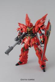 Gundam: Master Grade - Sinanju Anime Color Version 1:100 Scale Model Kit