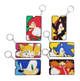 Sonic The Hedgehog Gacha Bag Tags Mystery Bags