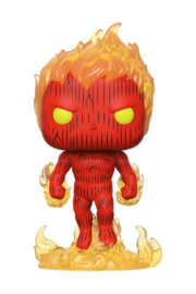 Funko Pop! Fantastic Four POP! Marvel Vinyl Figure Human Torch 9 cm