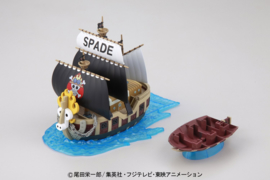 One Piece: Grand Ship Collection - Spade Pirates Model Kit