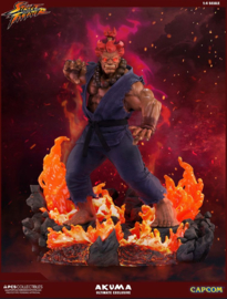 PCS - Street Fighter Mixed Media Statue 1/4 Akuma Ultimate Exclusive 58 cm
