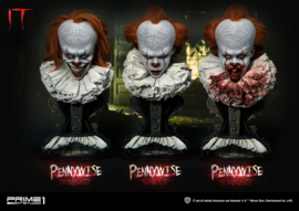 Prime 1 Studio - Stephen Kings It 2017 Busts 3-Pack 1/2 Pennywise Serious, Dominant & Surprised 42 cm