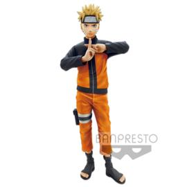 Naruto Shippuden Grandista nero Figure Uzumaki Naruto 23 cm