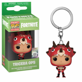 Funko Pocket Pop! Keychains - Fortnite Tricera Ops