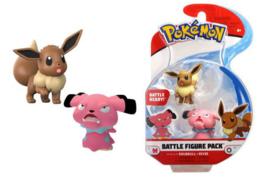 Pokémon Battle Mini Figures Packs 5-7 cm Wave 3 - Snubbull & Eevee