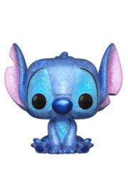 Lilo & Stitch POP! Disney Vinyl Figure Stitch Seated (Diamond Glitter) Exclusive 9 cm