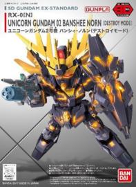 Gundam: SD EX-Standard 015 - Banshee Model Kit