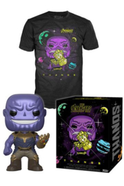 Funko Pop! Avengers Infinity War POP! & Tee Box Thanos Maat XL
