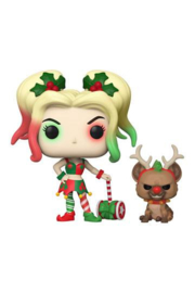 DC Comics POP! & Buddy Vinyl Figure DC Holiday: Harley Quinn with Helper 9 cm