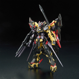 Gundam Real Grade: Gundam Astray Gold Frame A. Mina - 1:144 Scale Model Kit