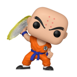 Funko Pop! Dragon Ball Z POP! Animation Vinyl Figure Krillin w/ Destructo Disc 9 cm
